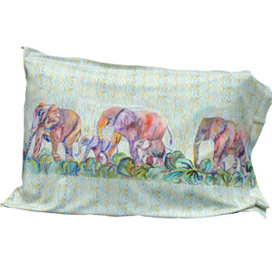 Elephant Parade Pillowcase