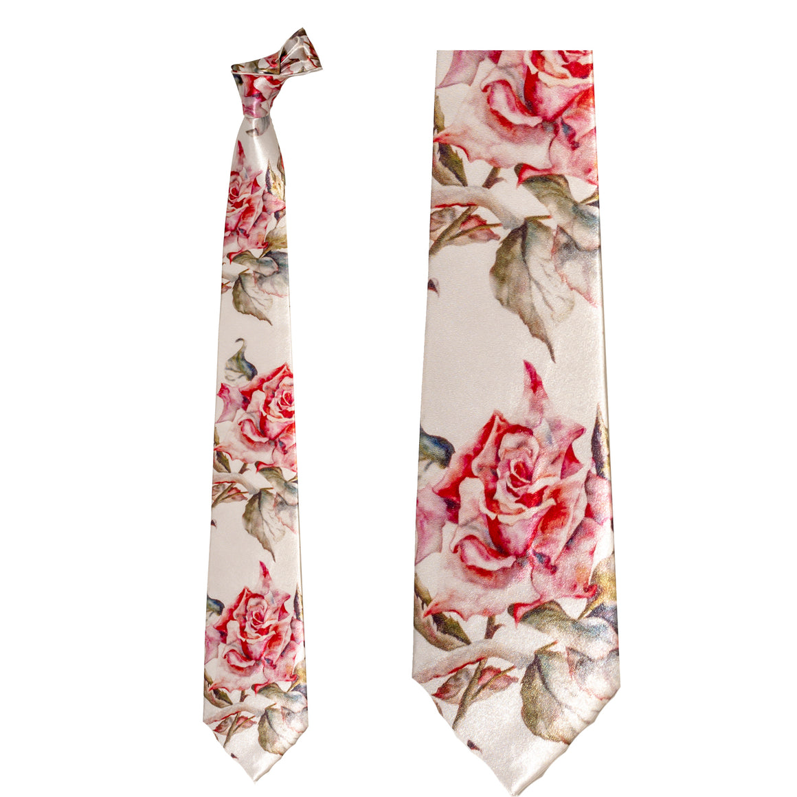 A Rose is a Rose Necktie