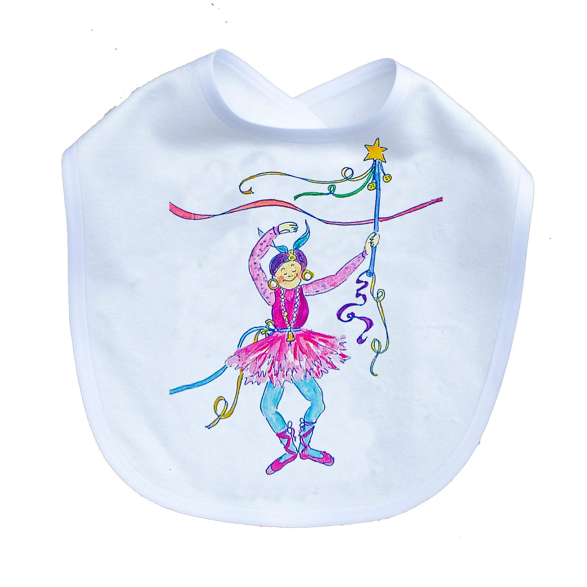 Sillybilly Dancer Infant Bib