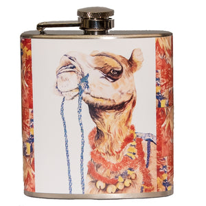 Where's the Party? (camel) Flask