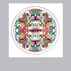 Kaleidoscope Note Cards