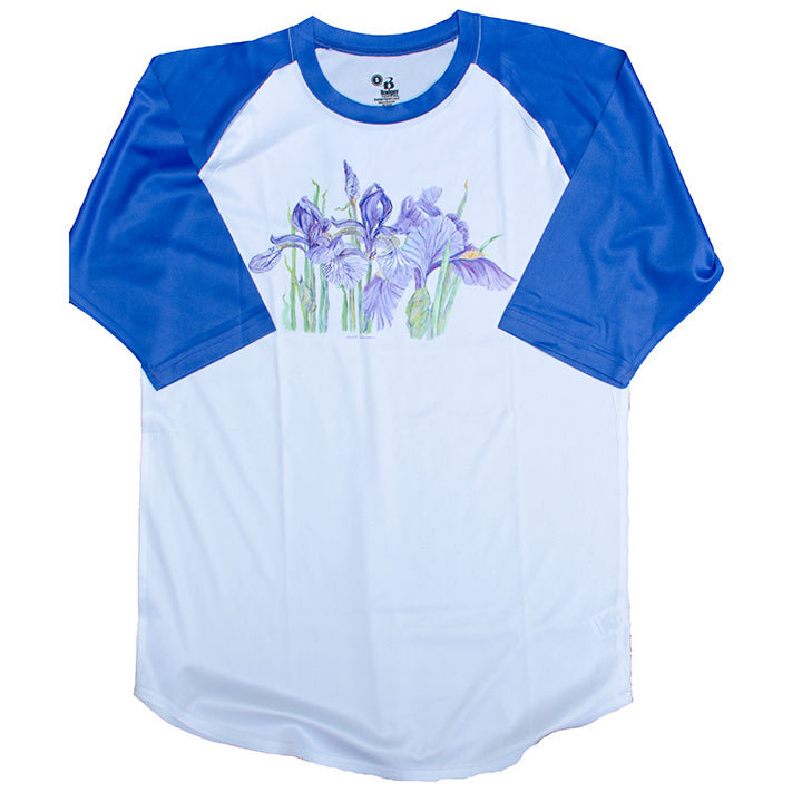 Double Iris 3/4 Sleeve T-shirt