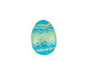 Foil Wrapped Chocolate Hollow Easter Egg