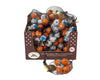 Foil Wrapped Chocolate Halloween Balls in DRC