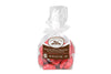 Foil Wrapped Chocolate Red Hearts in Cellophane Bag