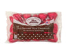 Foil Wrapped Chocolate Red Hearts in Laydown Bag