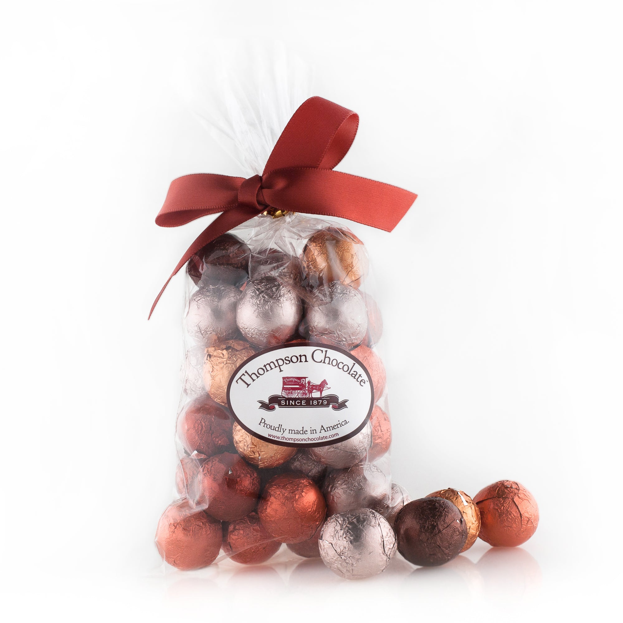 Autumn Chocolate Marbles