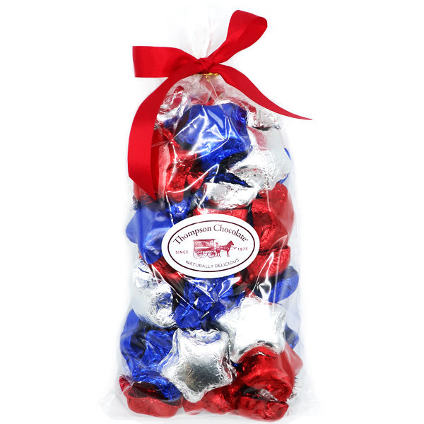 Red, White and Blue Chocolate Stars