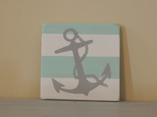 Anchor - Mini Coastal