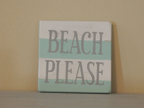 Beach Please - Mini Coastal
