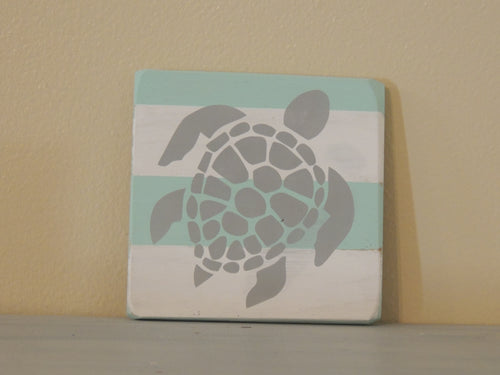 Sea Turtle - Mini Coastal
