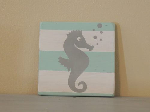 Sea Horse - Mini Coastal