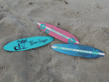 "24"" Striped Surfboard Wall Hanging"