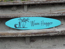 "24"" Surfboard Wall Hanging Female Surfer"