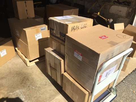 electric fence supplies sent for farm relief effort