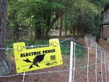 250 Electric Fence Warning Signs - Gallagher Electric Fence