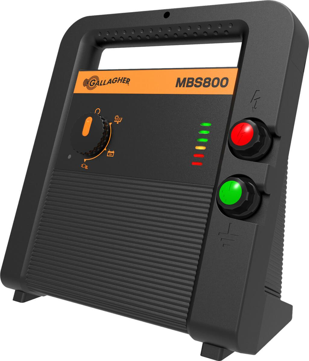 Gallagher Mbs800 Multi Powered Fence Charger Solar Panel