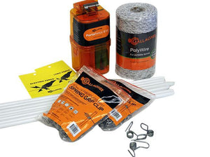 Pet & Garden Electric Fence Kit - Gallagher Electric Fence