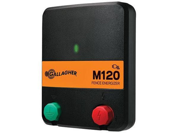 M120 1.2 Joule / Powers up to 15 Miles / 60 Acres - Gallagher Electric Fence