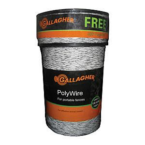 1320' Poly Wire + 300' Free Combo - Gallagher Electric Fence