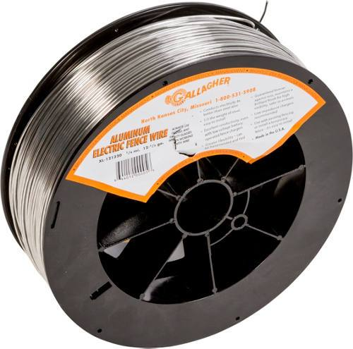 4 Rolls of 4000' | 12.5 Gauge Aluminum Wire - Gallagher Electric Fence