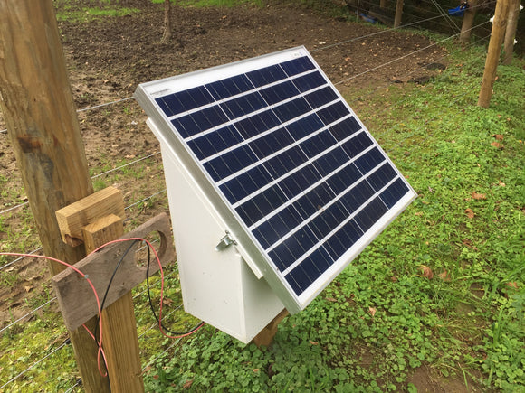 Solar Fence Charger Conversion / 80 Watt - Gallagher Electric Fence