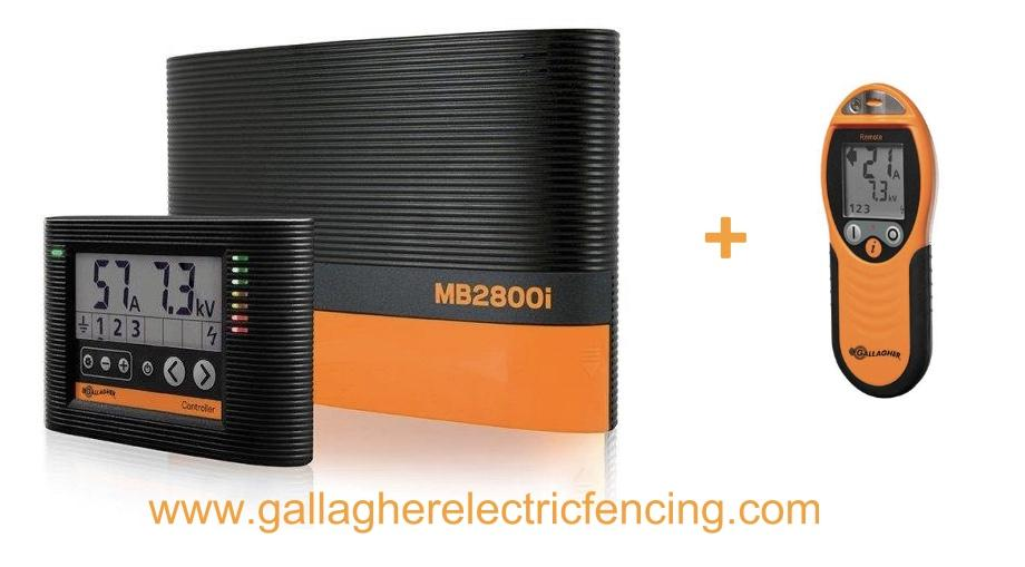 Gallagher Mb2800i Fence Energizer And Remote Control