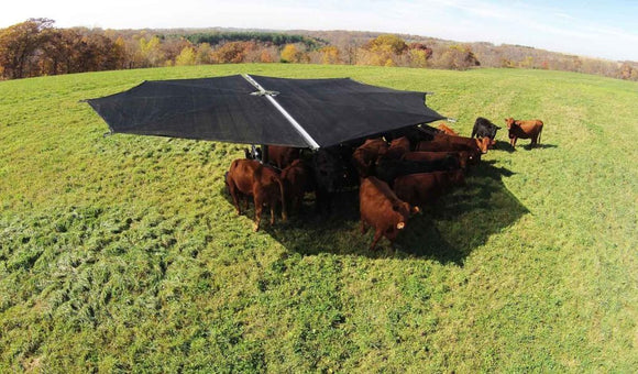 Shade Haven SH600 Portable Grazing Shade Structure | Request a Quote - Gallagher Electric Fence