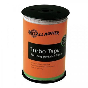 "656', 1.5"" Turbo Tape - Gallagher Electric Fence"