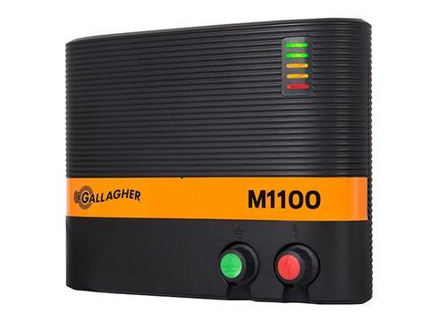 NEW! M1100 11 Joule / Powers up to 110 miles / 650 acres - Gallagher Electric Fence