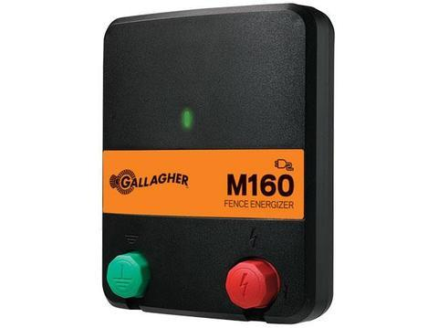 M160 1.6 Joule / Powers up to 30 Miles / 100 Acres - Gallagher Electric Fence