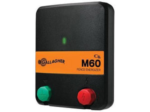 M60 0.6 Joule / Powers up to 10 Miles / 40 Acres - Gallagher Electric Fence