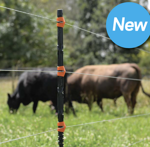 "200, 47"" Insulated Line Posts, Clips & Driver 