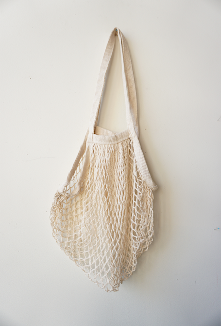 Organic Cotton Netted Tote