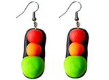 Traffic Lights Earrings