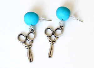 Hairdresser earrings