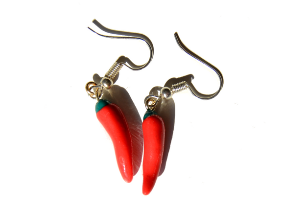 Chili earrings