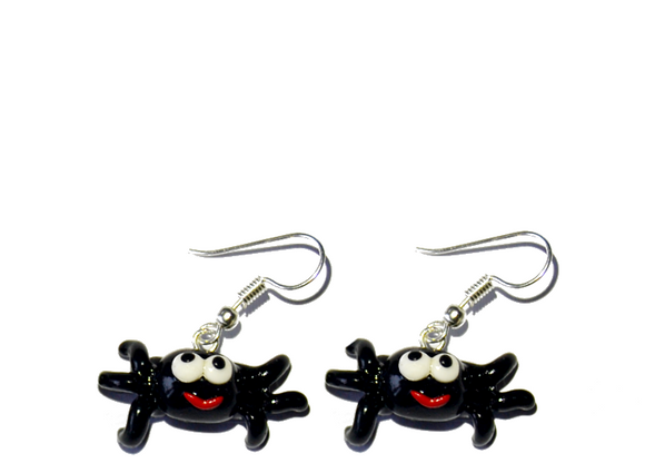 Spider earrings (hook)