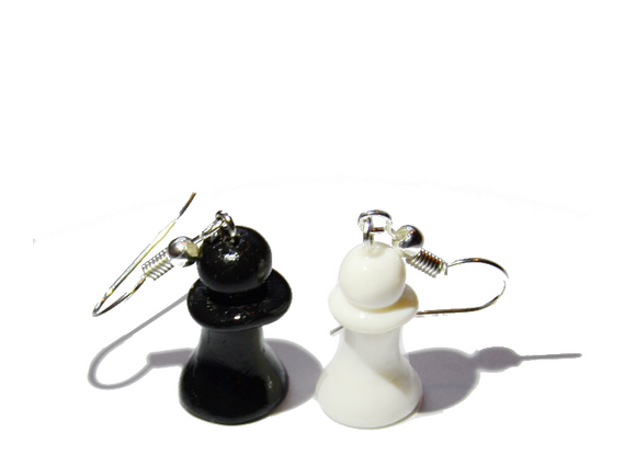 chess earrings