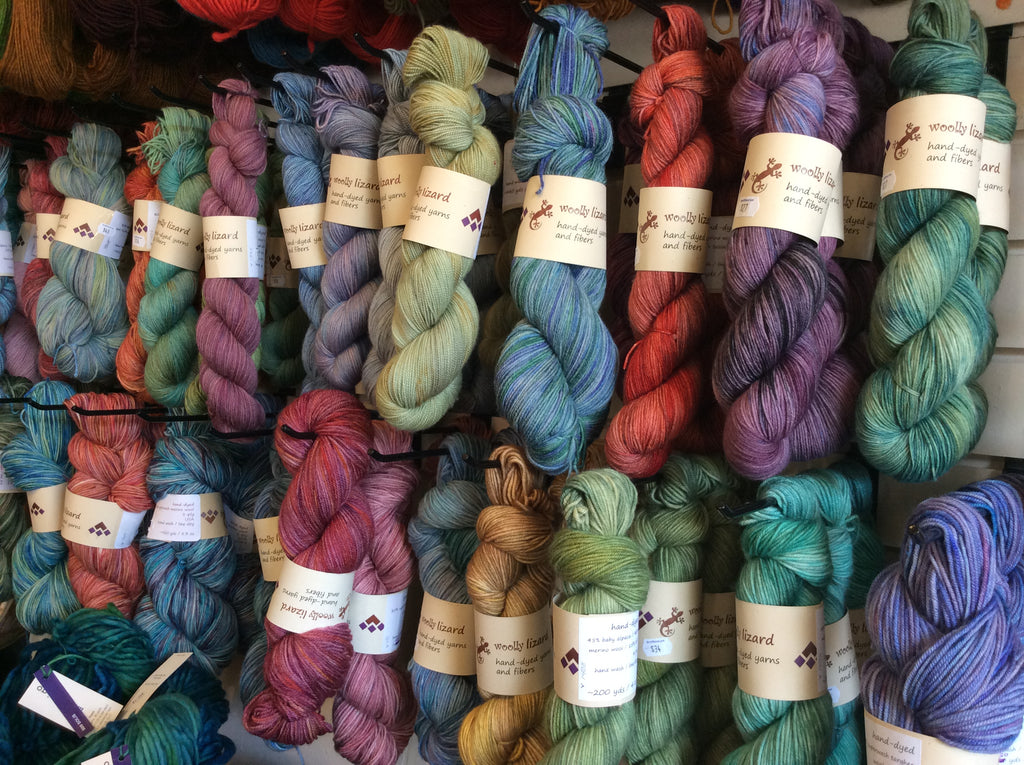 Woolly Lizard Yarn