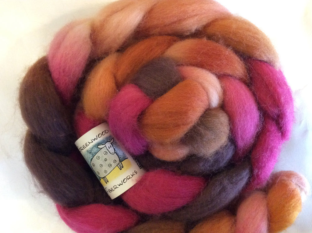 Greenwood Fiberworks BFL Roving 4oz