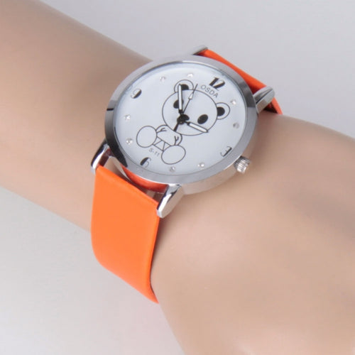 Leather Quartz Wrist Watch - Just Hers