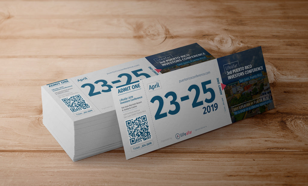 April 23 - 25, 2019 Puerto Rico Investor Conference Ticket