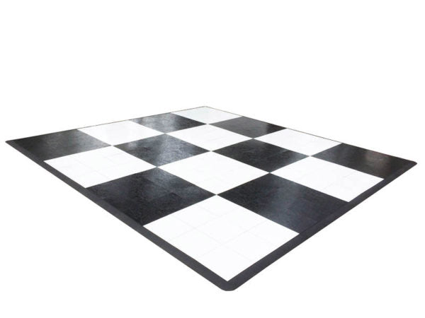 Dance Floor White or Black or Black and White