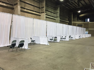 Draping Expo Booths