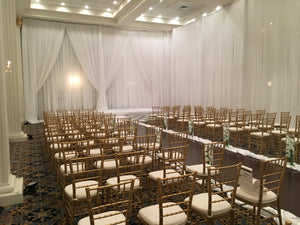 Sheer Draping (Pipe and Drape)