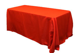 Tablecloths Standard Poly Rectangular