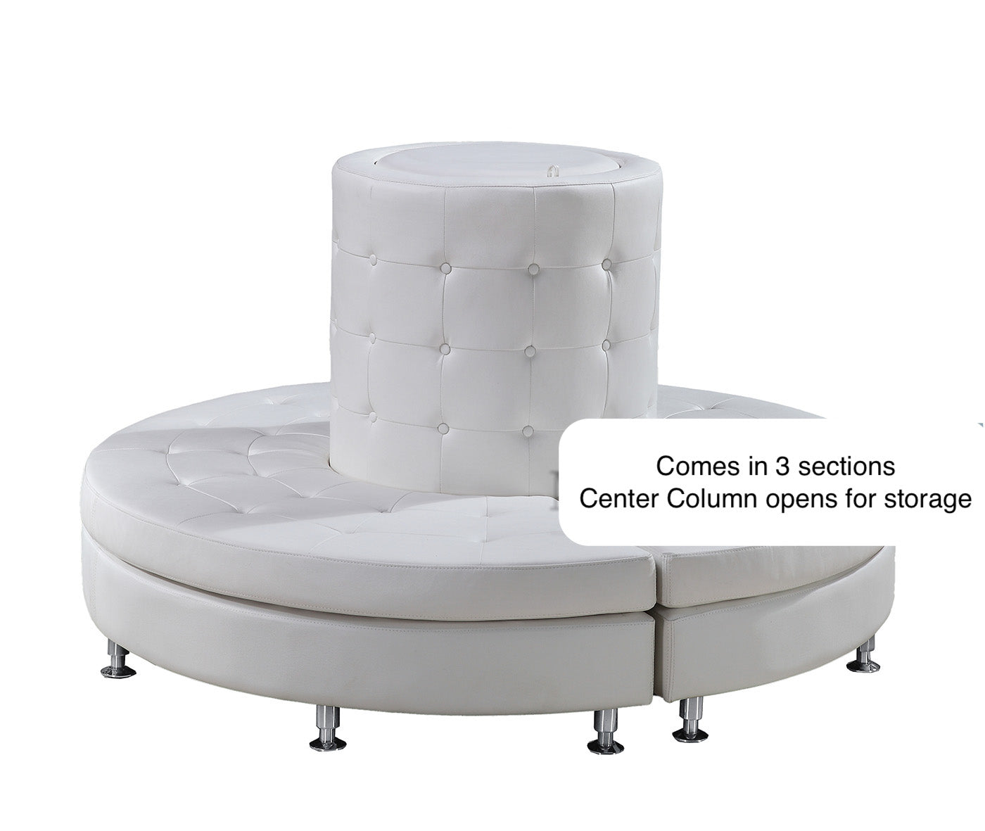 Sofa Round with Center