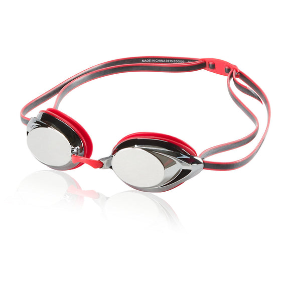 Speedo Vanquisher 2.0 Mirrored Goggle (Speedo Red)_DD