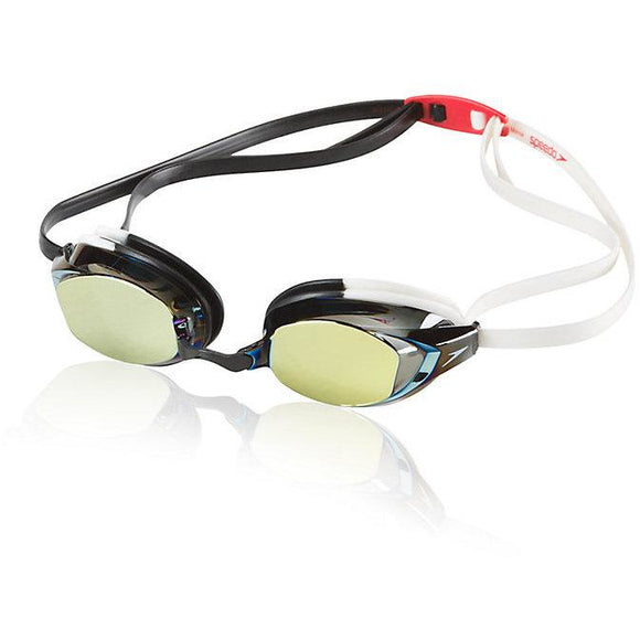 Vanquisher EV (Expanded View) Mirrored Goggle (White/Black)